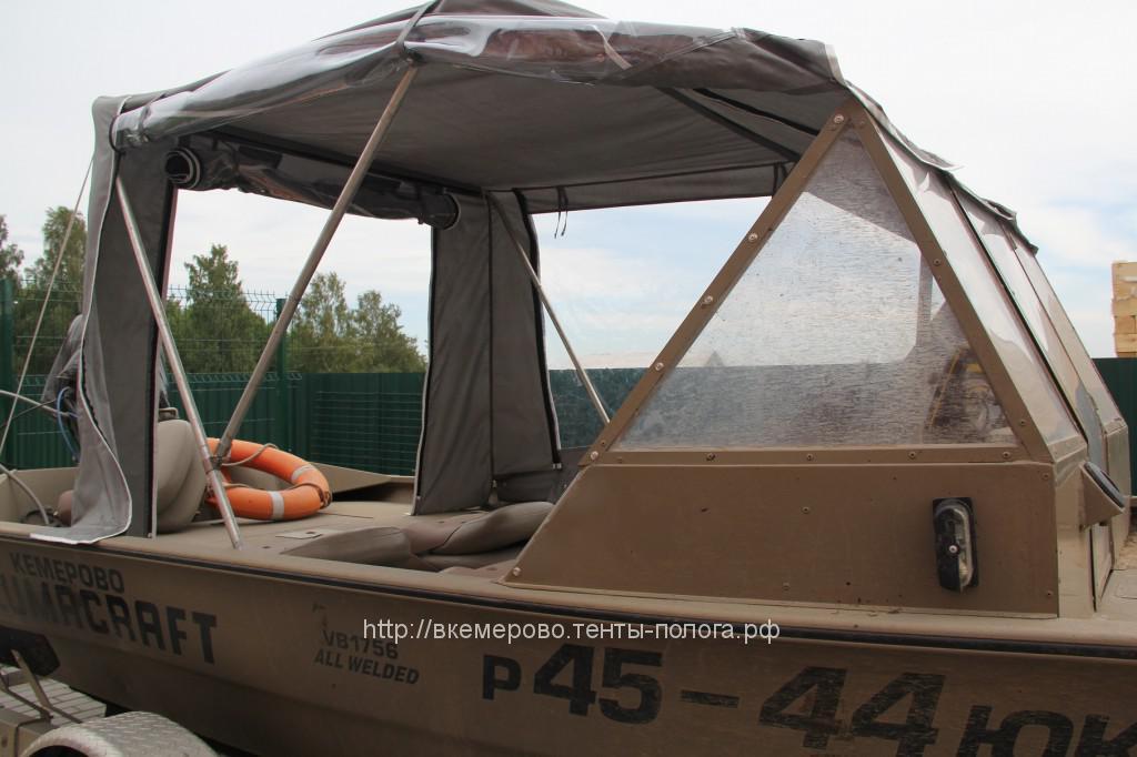 Пошив тента для лодки своими руками 73