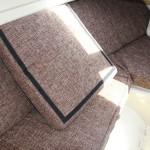 Подушки для катера, обивка подушек
