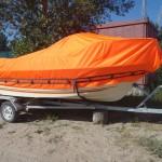 Транспортировочный тент на лодку Quicksilver
