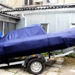 Транспортировочный тент на лодку Solar 450