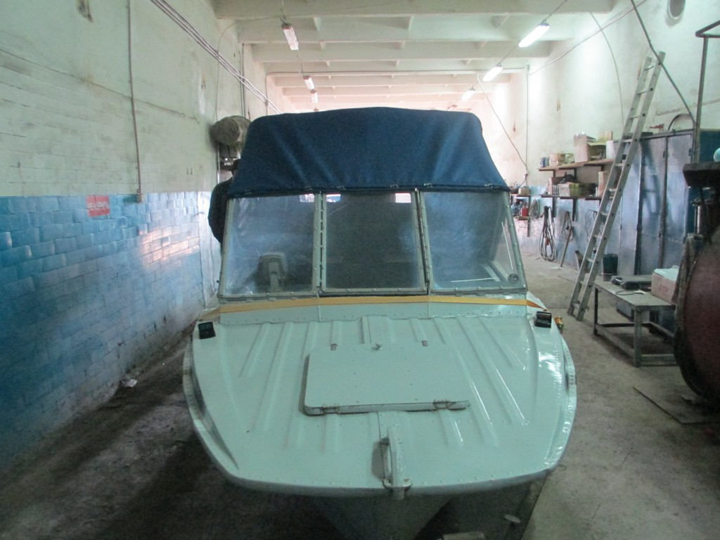 Тент на катер Казанка 5м