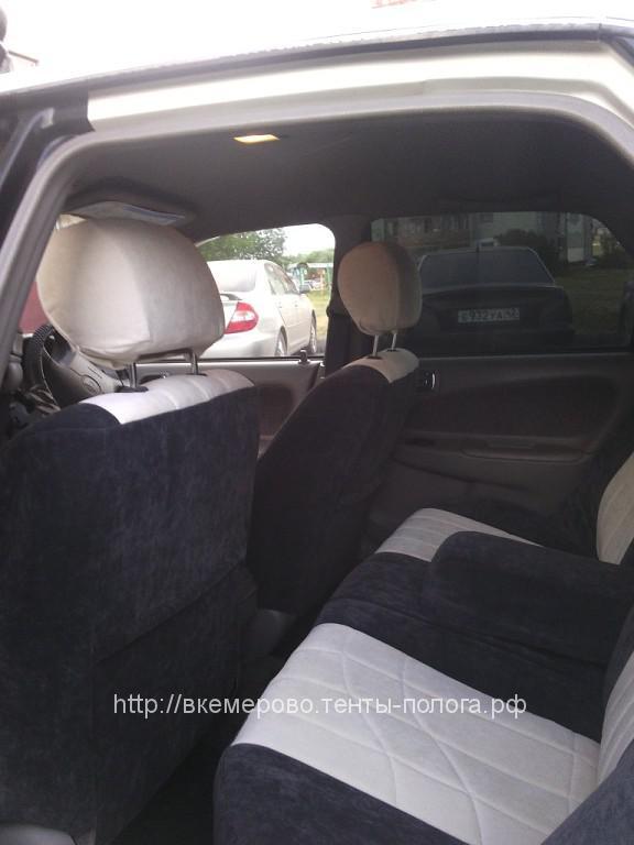 Изготовление авточехлов на сиденья Toyota Corolla