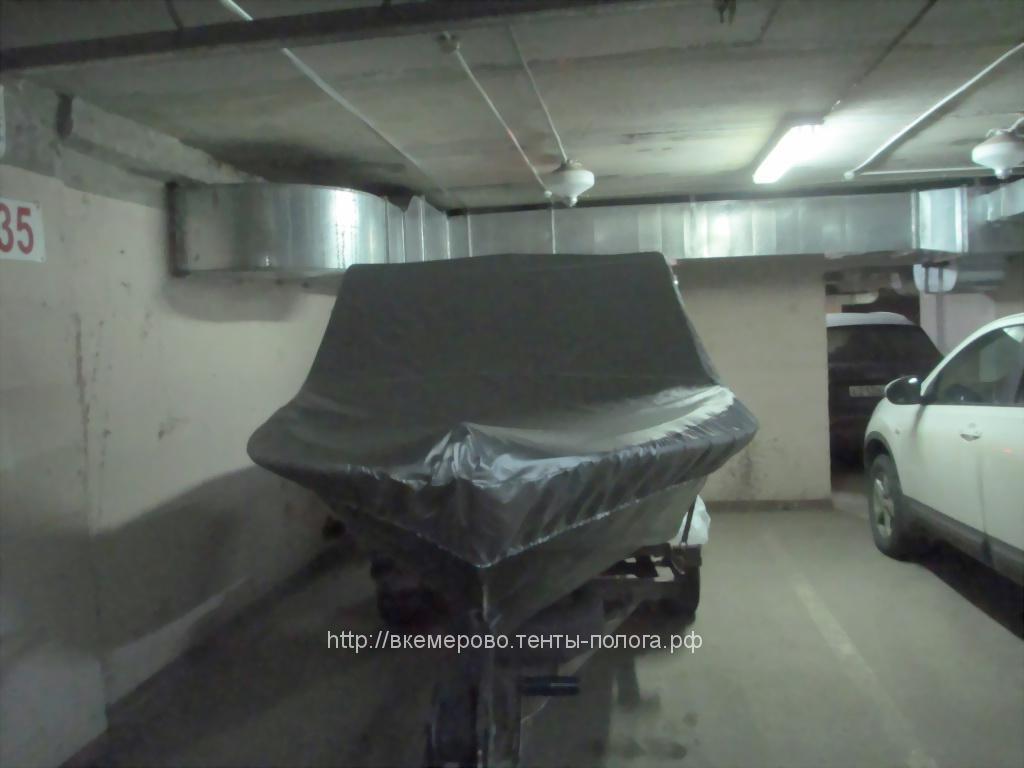 Транспортировочный, стояночный тент на лодку «Крым». Пошив на заказ.