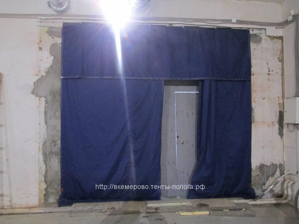 Пошив гаражной шторы из ткани Oxford в Кемерово