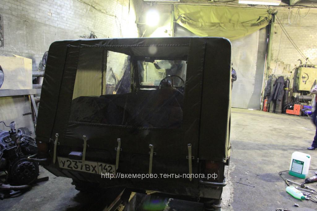 Изготовление тента для ЛУАЗ 967 ТПК