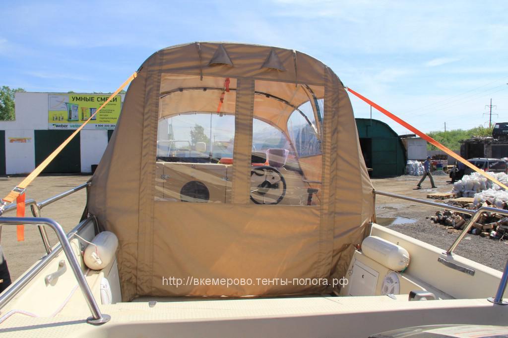 Изготовление ходового тента для катера Yamaha в Кемерово