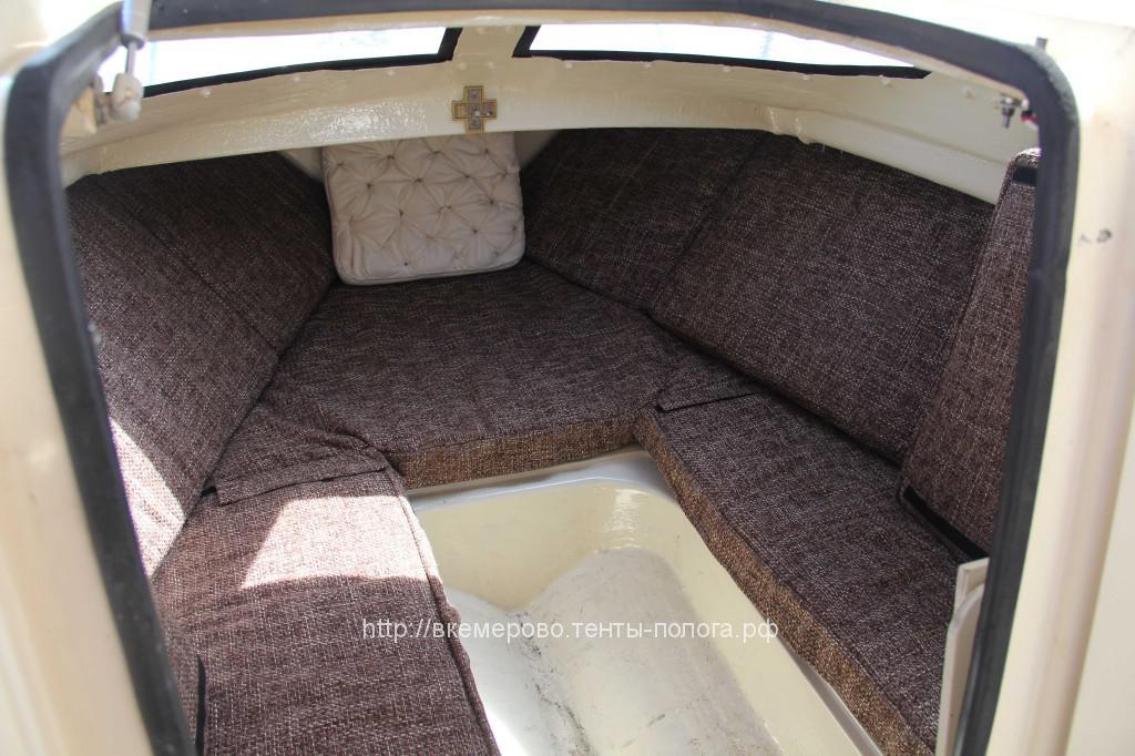 Изготовление подушек в катер