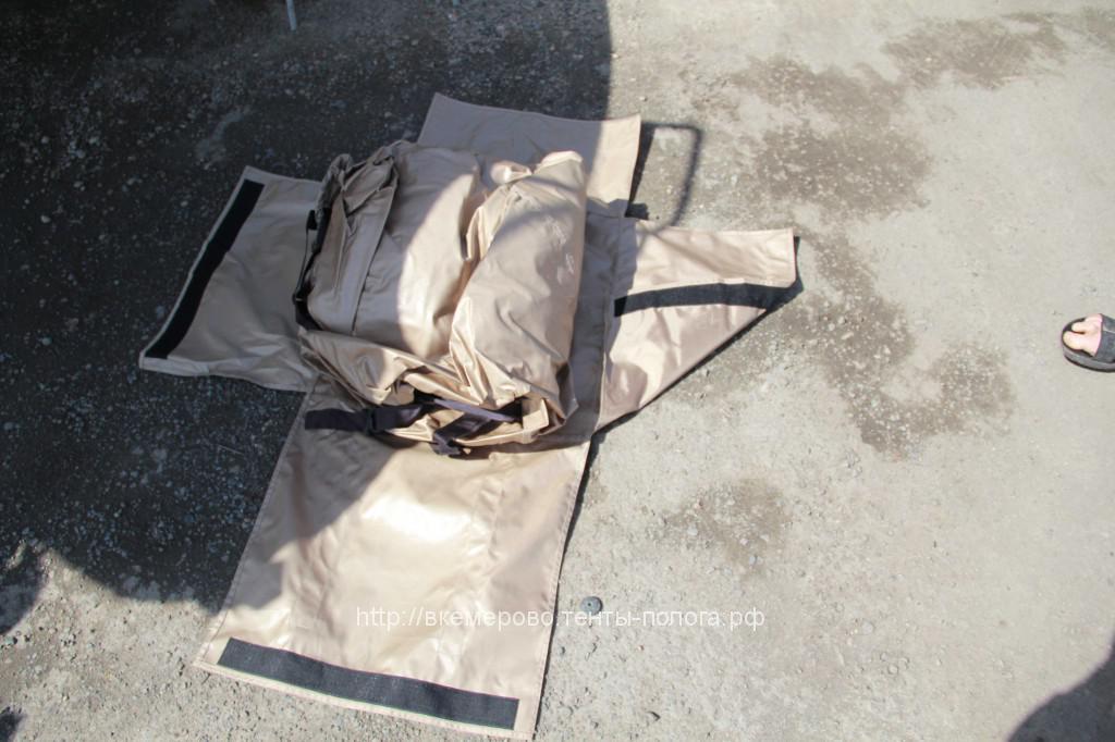 Пошив сумки для переноски транспортировочного тента на катер