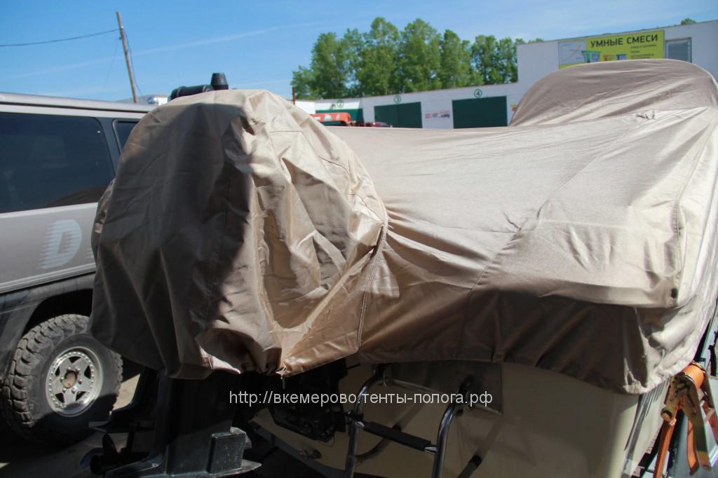 Изготовление тента для катера Yamaha для перевозки и хранения