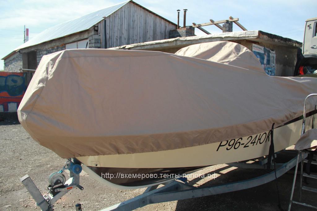 Пошив защитного тента для катера Yamaha в Кемерово