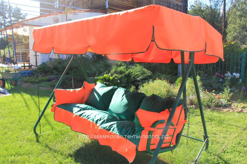 Пошив тента и подушек на садовые качели в Кемерово
