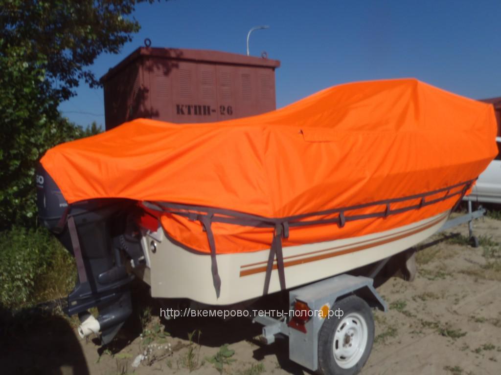 сшить транспортировочный тент на лодку