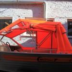 Ходовой тент на лодку Wellboat