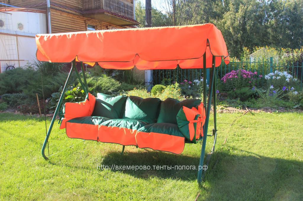 Тент и подушки для садовых качелей в Кемерово