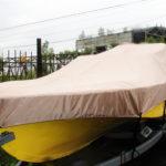 Пошив транспортировочного тента для лодки «Амур»