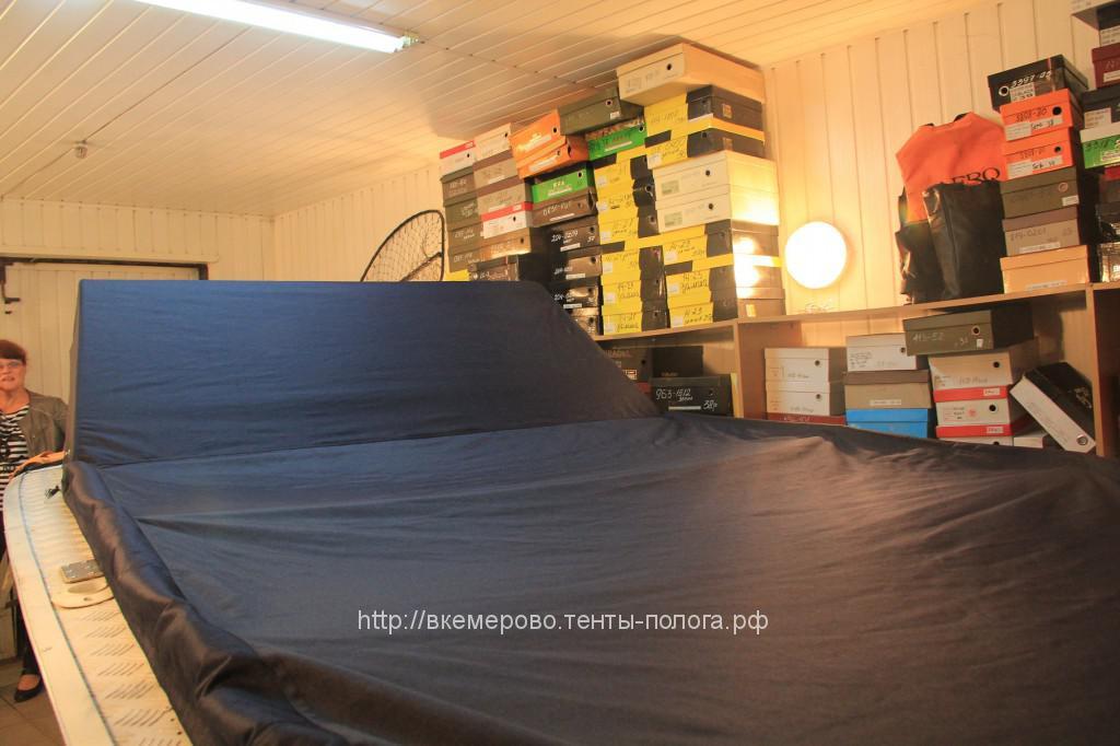 Пошив транспортировочного тента на лодку «Прогресс» в Кемерово