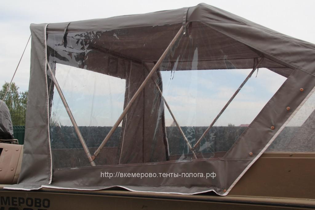Изготовление ходового тента на лодку Alunacraft в Кемерово
