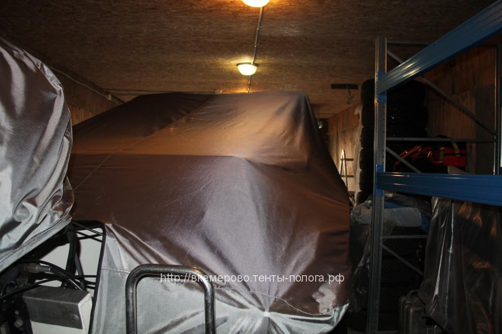 Тент-чехол на лодку Silver Hawk cc 540 в Кемерово
