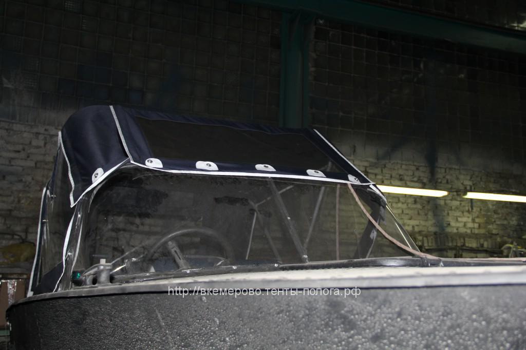 Ходовой тент на лодку «Прогресс» в Кемеровр