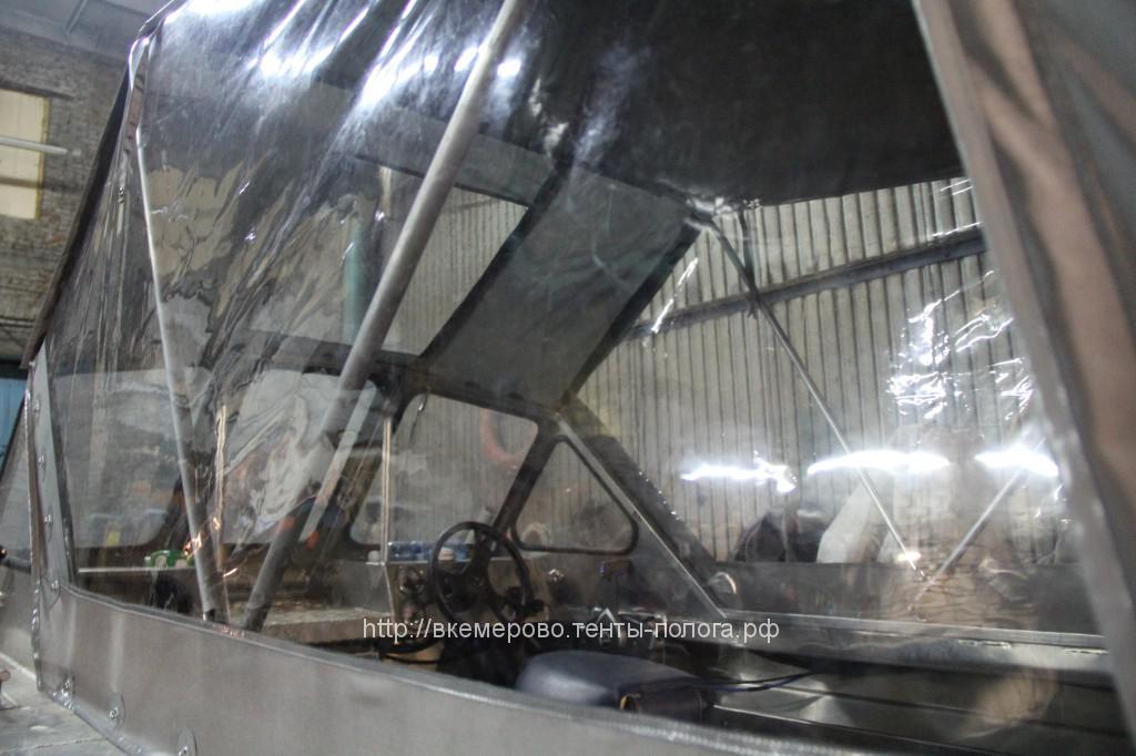 Пошив ходового тента для лодки Rusboat Jet-470