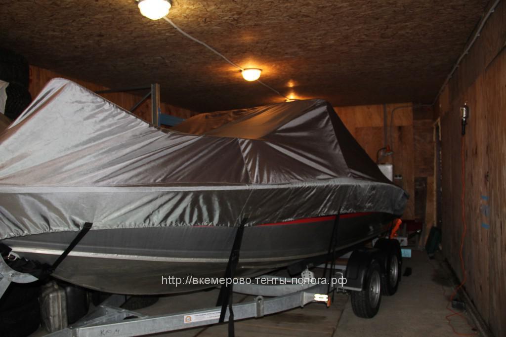 Пошив транспортировочного тента на лодку Silwer Hawk cc 540 в Кемерово