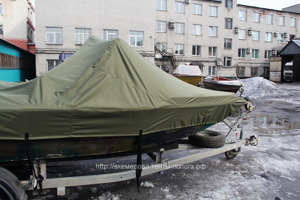 Тент-чехол на лодку Rusboat 460