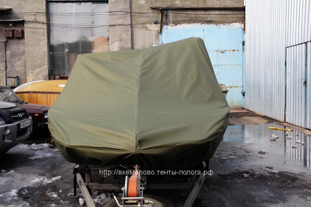 Изготовление тента на лодку Rusboat 460