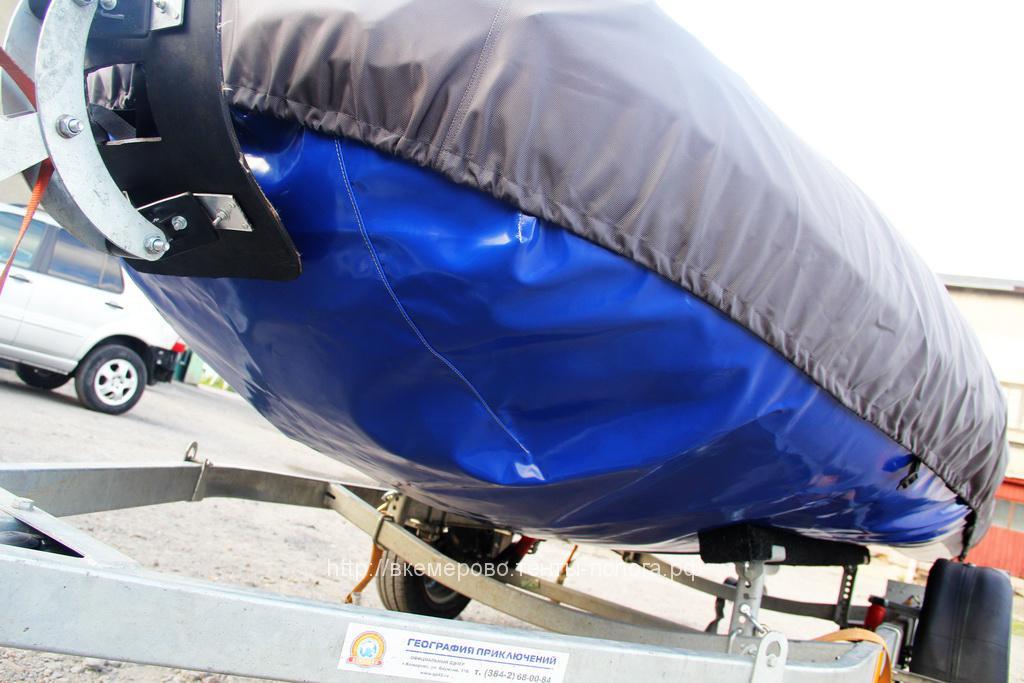 навес на пластиковую лодку