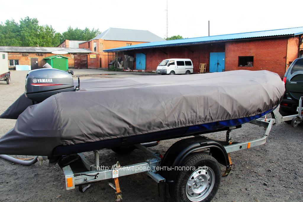 Защитный тент-чехол на лодку Solar 480