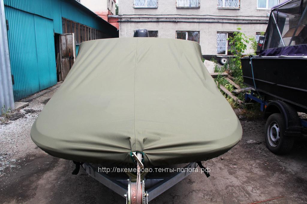 Транспортировочный тент на лодку Обь, пошив на заказ в Кемерово