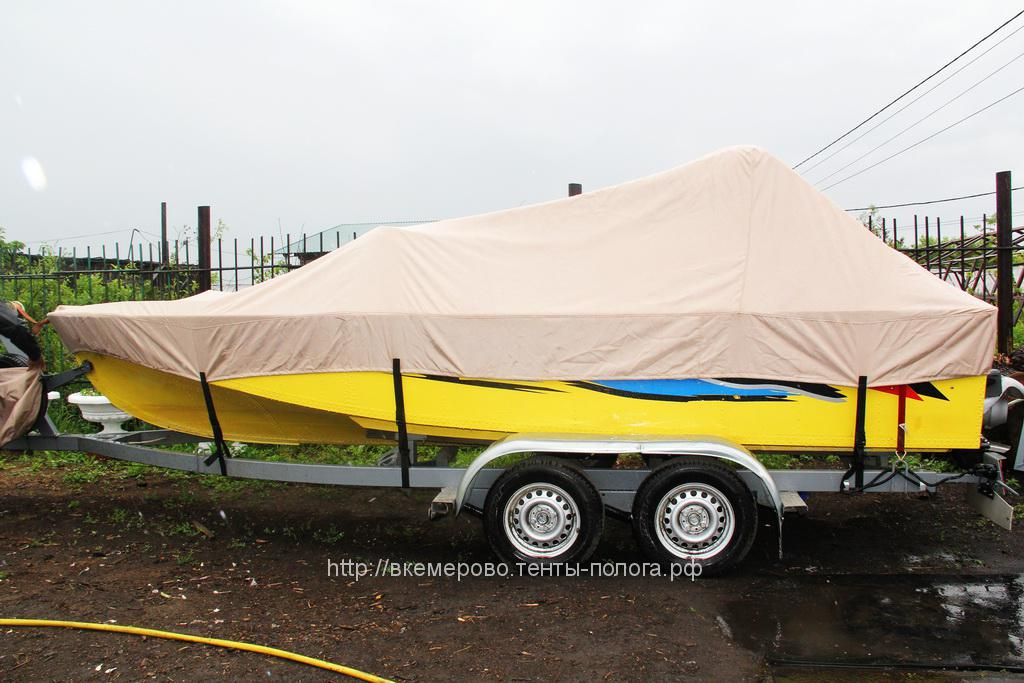 Пошив транспортировочного тента на лодку Амур в Кемерово на заказ