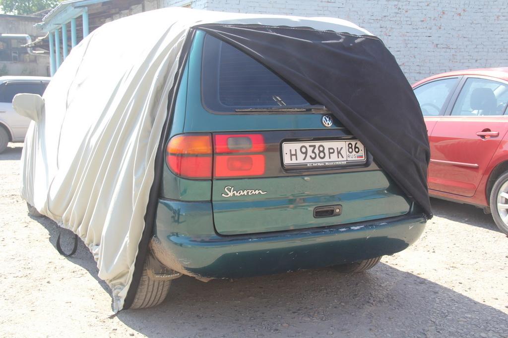 Защитный чехол на легковой автомобиль Wolksvagen Sharan