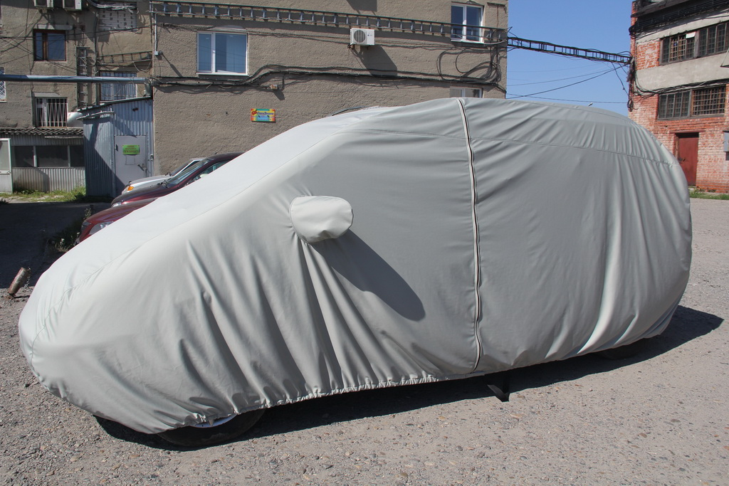 Защитный тент чехол на автомобиль Wolksvagen Sharan