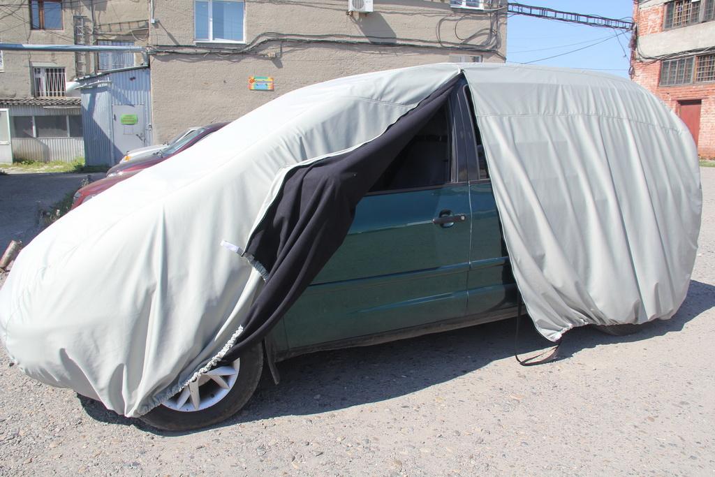 Пошив тента-чехла на автомобиль Wolksvagen Sharan в Кемерово на заказ