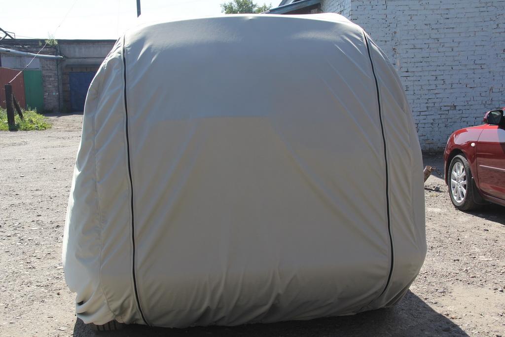 Пошив защитного тента-чехла на легковой автомобиль Wolksvagen Sharan в Кемерово