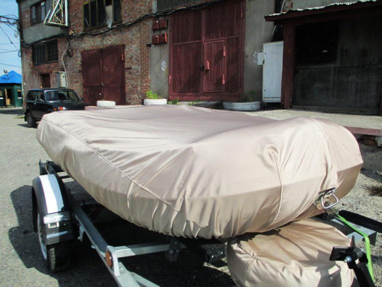 стояночный тент на лодку гладиатор